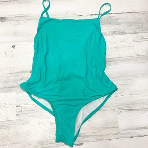 Free Press Hailee Teal One Piece Swimsuit